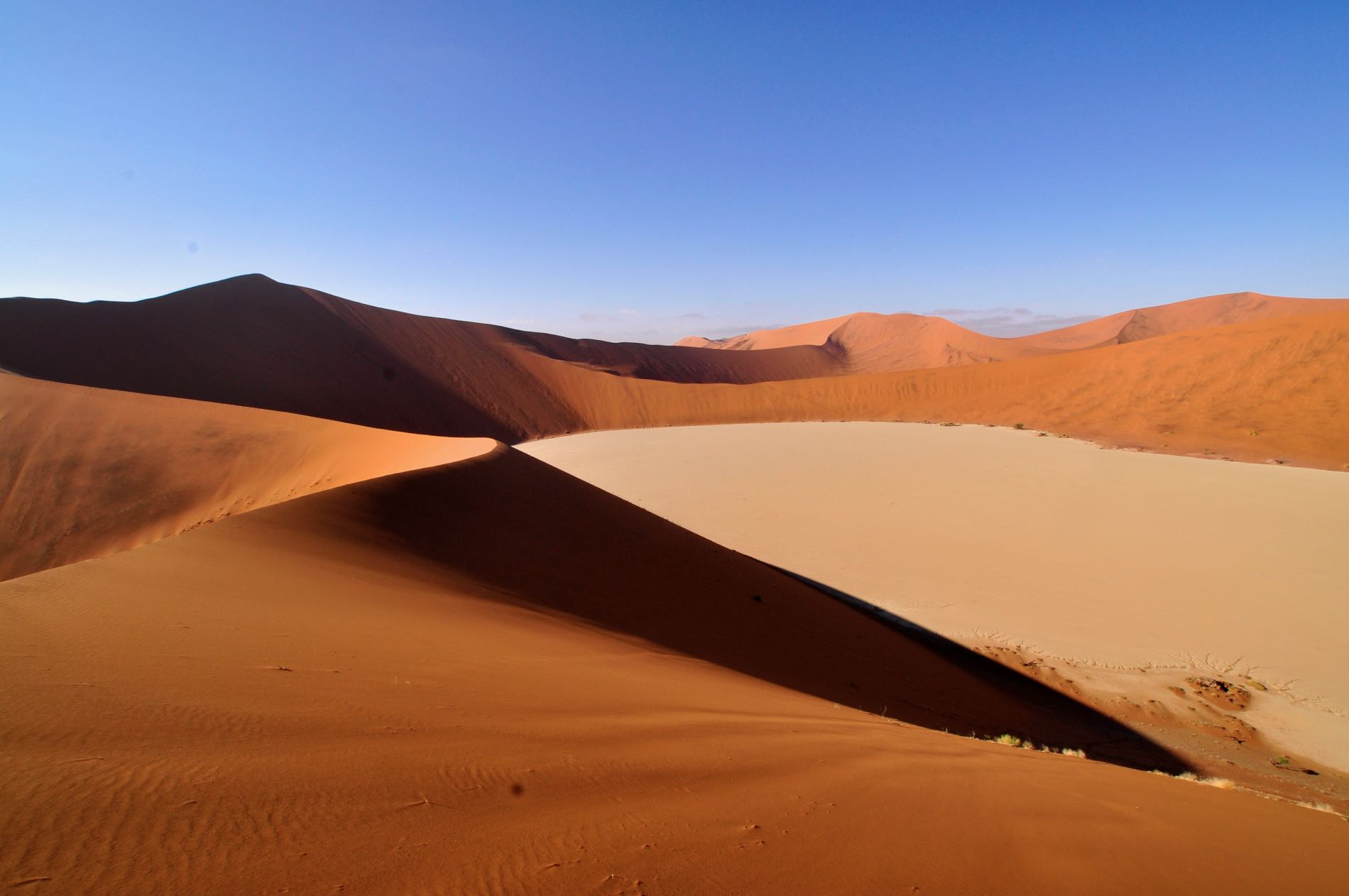 Dune Hiking In Namibia Andtraveller