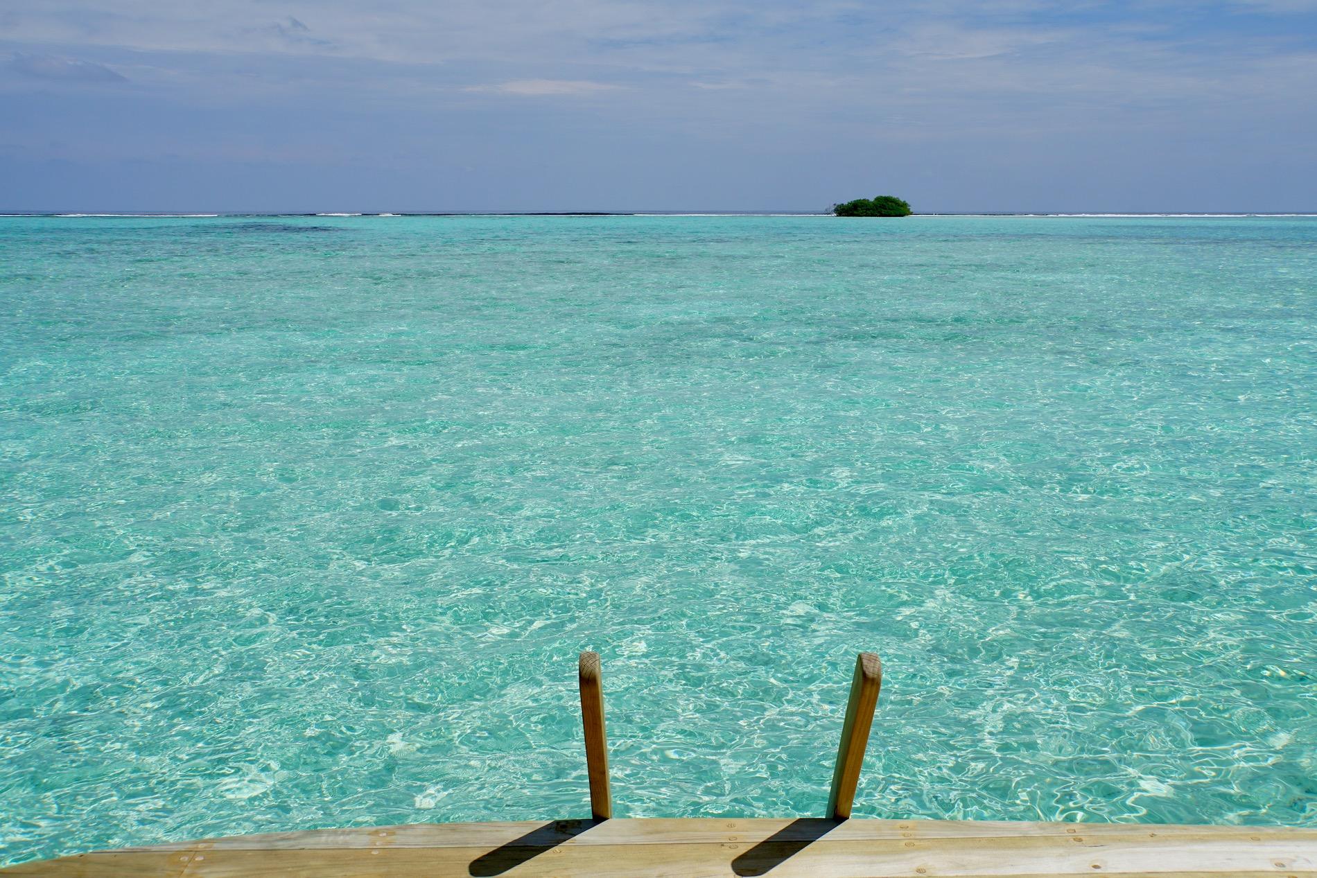 Vacaciones en el paraíso de Maldivas